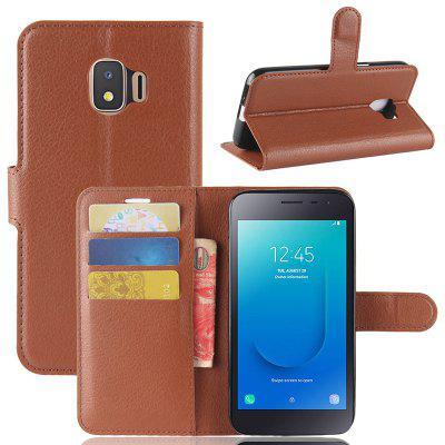 Naxtop Mobile Phone Wallet Flip Stand Cover for Samsung Galaxy J2 Core