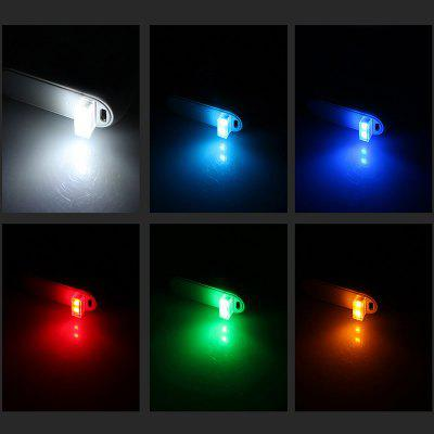 BRELONG LED Car USB Cigarette Lighter Decorative Atmosphere Lamp