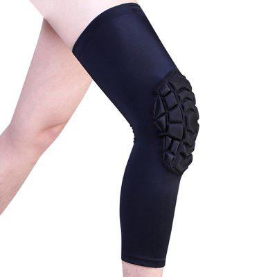 Hot-press Honeycomb Knee Pad Basketball Mountaineering 1PC