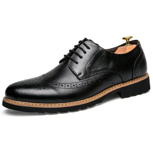 Confortables 44 Plates Vancat Casual Eu Hommes Chaussures LoisirsNoir Cuir 8nw0OkP