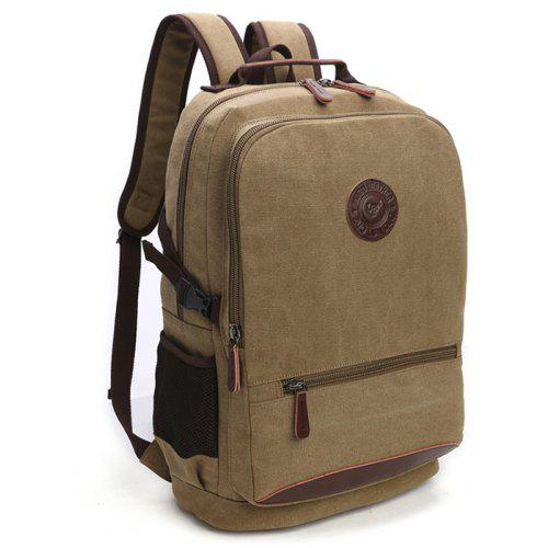 f279f1177c5 ZUOLUNDUO Men s Backpack Wash Canvas Fashion Casual - Rs2178.38 Fast ...