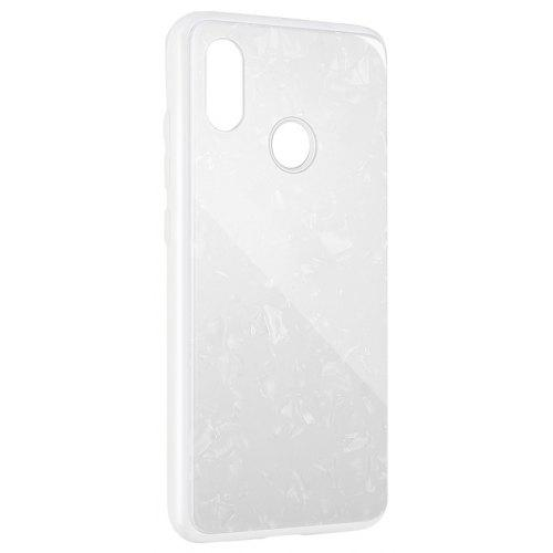 Gocomma Conch Shell Tempered Glass Phone Case 1pc for Xiaomi Mi 8