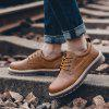 Men Shoes Tooling  Comfortable - LIGHT BROWN