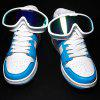 Men Comfortable Sneakers Leisure Durable Lace-up - DAY SKY BLUE