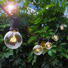 3.15M Waterproof G40 Edison Bulb String Light for Outdoor Decoration - TRANSPARENT