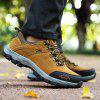 Men Outdoor Sports Non-slip Hiking Shoes - CAMEL BROWN