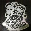 Decorative Pattern Greeting Card Mold Cutting Die - SILVER