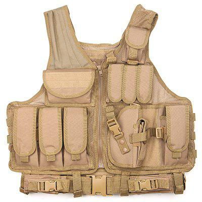 Wild Breathable Security Training Equipment Tactical Mesh Shirt Vest
