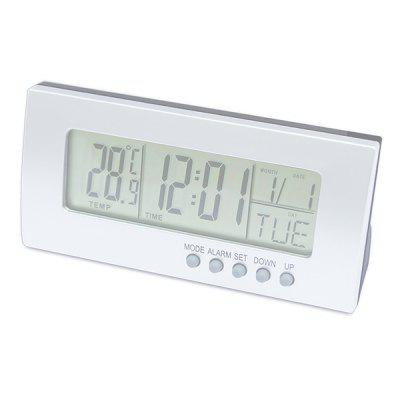 Multi-function Thermometer Hygrometer Electronic Calendar Temperature Clock