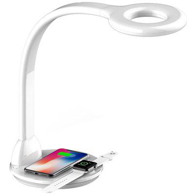 LED Table Lamp Wireless Charging  For iPhone Watch Mobile Phone