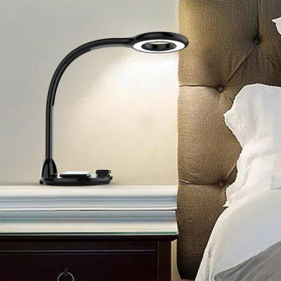Wireless Charging LED Table Lamp for iPhone Watch Mobile Phone