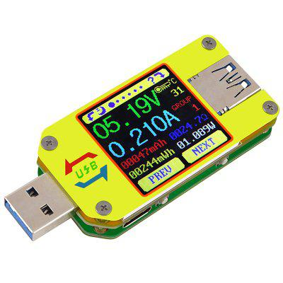 UM34C USB 3.0 Draagbare Voltage Huidige Meter Meting Type-C Meter