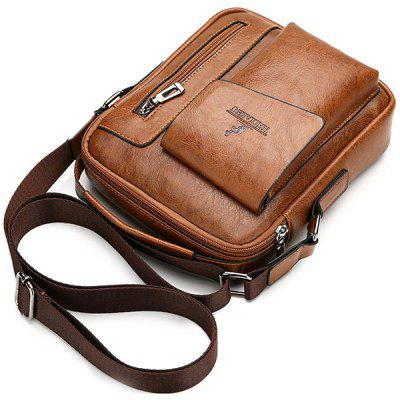 Men's Crossbody Bag Trend Casual Multi-layer