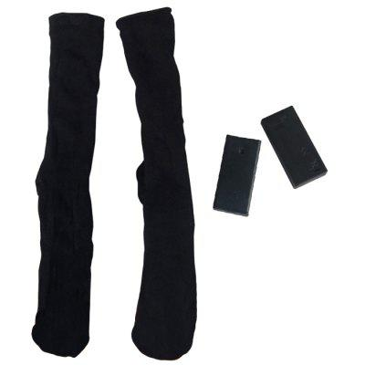 3V Electric Cotton Double Layer Warm Toe Back Heating Sock 2pcs
