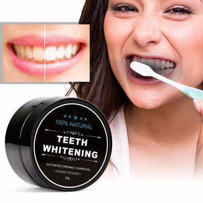 Activated Carbon Tooth Whitening Powder