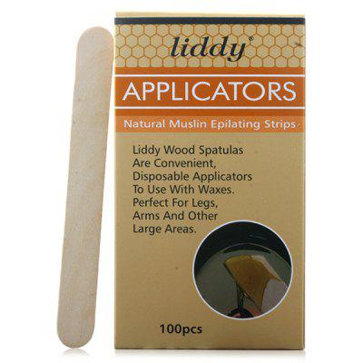 Hair Removal Scraping Wax Stick Beauty Care Tool 100pcs