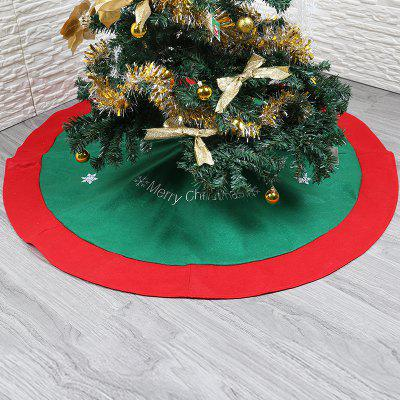 Trendy Kerst Plush Tree Rok Deken Decoratie