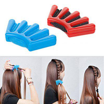 DIY Five-fingered Braider Hair Styling Tool Braided Device Hairdressing Accessories 1pc
