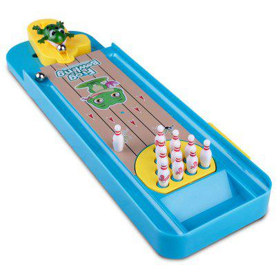 Mini Frog Bowling Desktop Game Toy Set