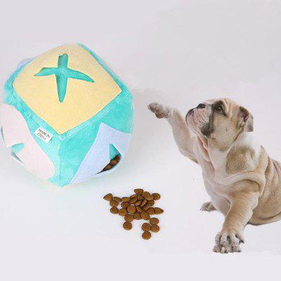 Dog Cat Sniffing Plush Intelligence Bouncy Ball resistente a mordidas