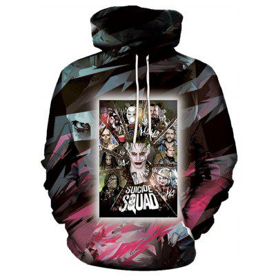 Men's Hoodies 3D Printing Fashion Funny Anime