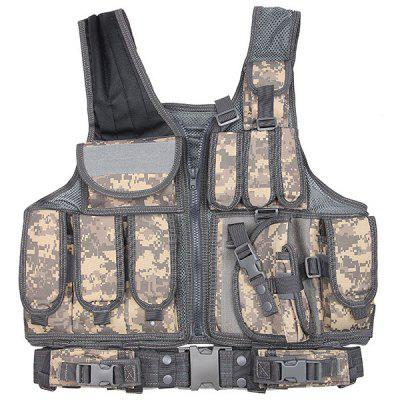 Breathable Security Training Equipment Tactical Mesh Shirt Vest