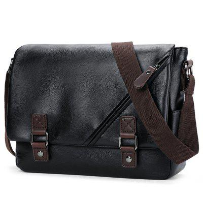 Bolsa de Ombro Masculina Casual Diagonal Fashion