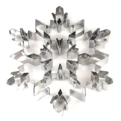 Stainless Steel Christmas Snowflake Fondant Cookies Mold