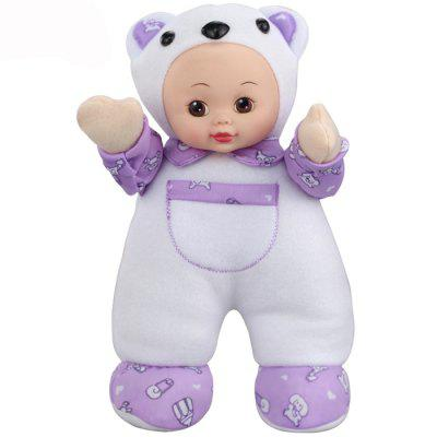 Interactive Sleep Appease Bear Baby Doll Plush Toy Christmas Gift