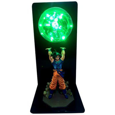 Creative Dragon Figure Ball Room Decorative Lamp LED Table Light