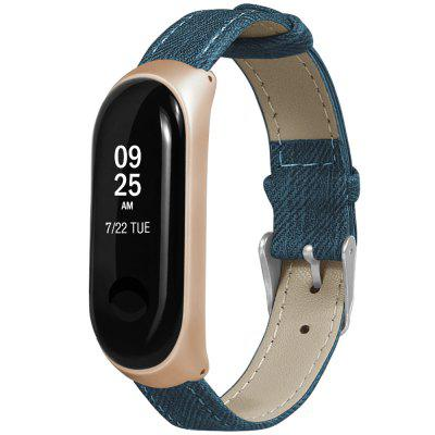 Denim Pattern Replacement Watch Strap Watchband a Xiaomi Mi Bandhez 3