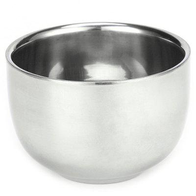 Metal Shaving Bowl Manual Mixing Foaming for Face Clear