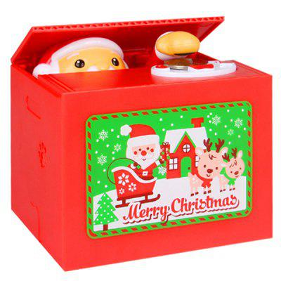 Creative Electric Music Saving Box Christmas Gift Toy