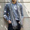 instantme Fashion Blended Silk Cashmere Scarf from Xiaomi Youpin - MULTI-B