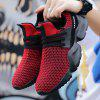 Men's Sneakers Ultra-light Woven Breathable Shoes - RED