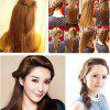DIY Five-fingered Braider Hair Styling Tool Braided Device Hairdressing Accessories 1pc - RED