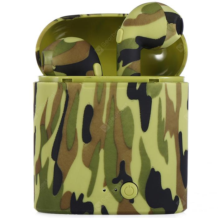 Painted Wireless Sports Camouflage Bluet