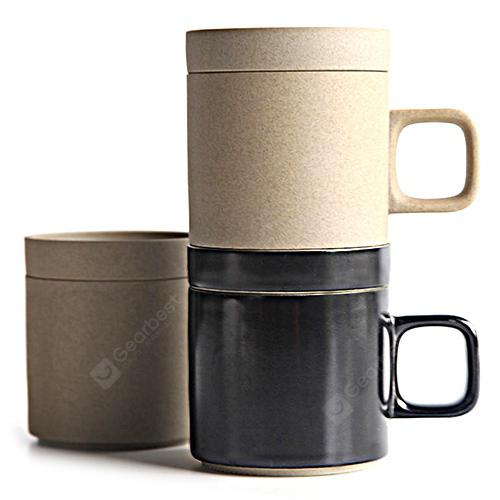 Wireless Charging Mug Electric Ceramic Cup for Home from Xiaomi Youpin - BLACK