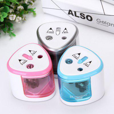 Automatic Plastic Electric Pencil Sharpener Student Supplies