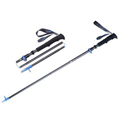AONIJIE E4087 Outdoor Ultra-light Folding Multi-function Telescopic Hiking Trekking Pole