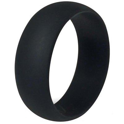 Silicone Ring Fashion Solid Color