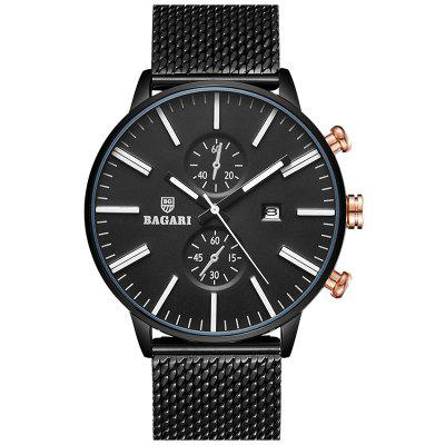 BAGARI 1809A Simple Men Watch