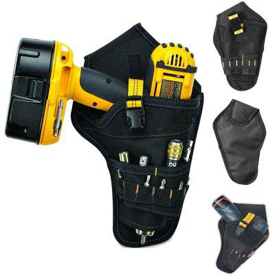 Multifunctional Oxford Cloth Kit Electric Wrench Tool Storage Bag + Belt