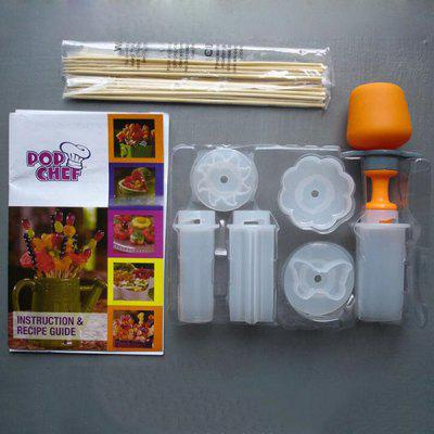 Y - 206 Creative DIY Fruit And Vegetable Carving Device Set Kitchen Gadget