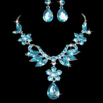 Women's Wedding Jewelry Sets Necklace Earrings