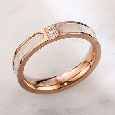 Bague Femme Titanium Steel Fashion Durable