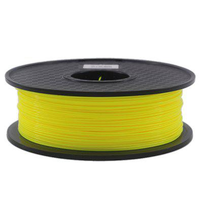 PCL Low Temperature 3D Printer Filament Printing Material Supply Spool Yellow