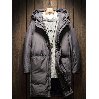 Men  's Down Coat Moda Casual