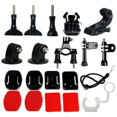 21 in 1 Action Camera Accessories Kit for GoPro HERO7 / 6 / 5 Yi SJ Cameras