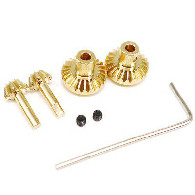 WPL 1612Y High Quality Copper Gear for B1 B24 B16 C24 1/16 4WD 6WD RC Car 2pcs